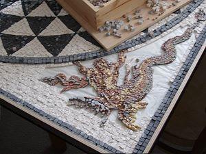 Herstellungsprozeß Mosaiken