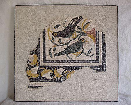 »Vögel«, eine Reproduktion eines römischen Mosaiks